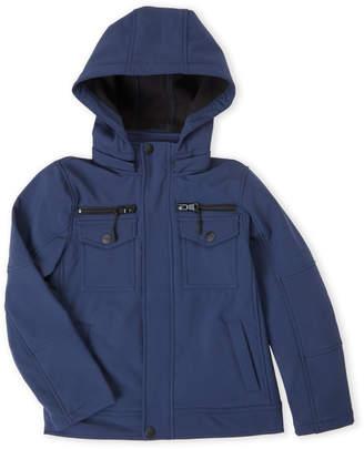 Urban Republic Boys 8-20) Navy Hooded Soft Shell Jacket