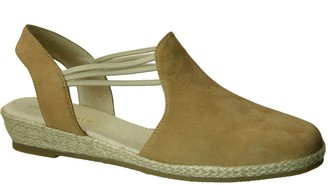 David Tate Leather Espadrilles - Nelly