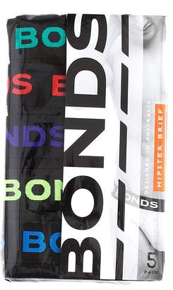 Bonds 5 Pack Hipster Brief
