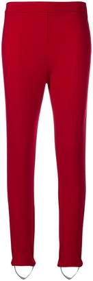 Twin-Set stirrup trousers