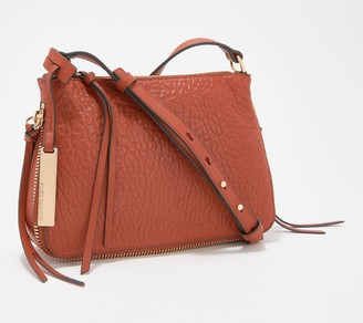 Vince Camuto Small Lamb Leather Crossbody Bag - Ida
