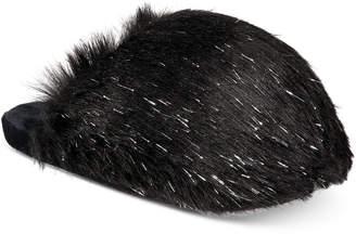 INC International Concepts I.n.c. Fluffy Faux-Fur Scuff Slippers