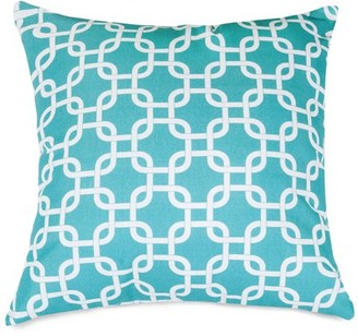 """Majestic Home Goods Links Extra Large Decorative Pillow, 24"""" x 24"""", Indoor/Outdoor"""