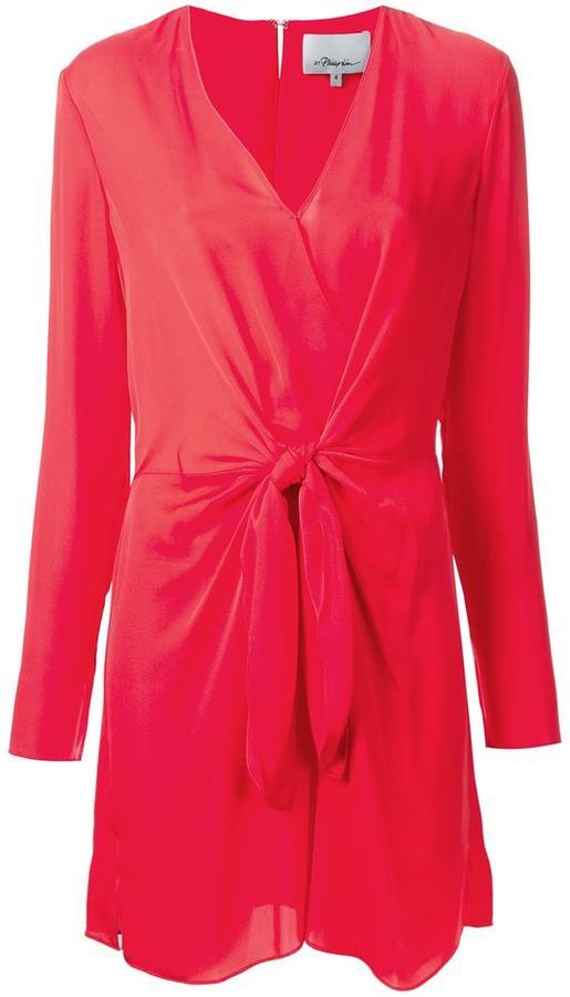 3.1 Phillip Lim3.1 Phillip Lim knot detail dress