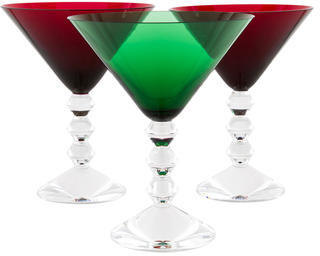 BaccaratBaccarat Vega Martini Glasses
