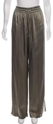 Jonathan Simkhai Satin High-Rise Pants w/ Tags