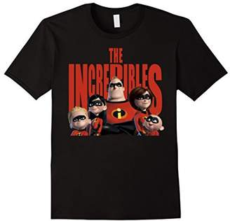 Disney Pixar The Incredibles Head To Title Graphic T-Shirt