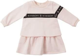 Givenchy Logo Band Cotton Sweatshirt Dress