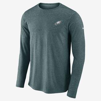 Nike Dri-FIT Coach (NFL Eagles) Men's Long Sleeve Football Top