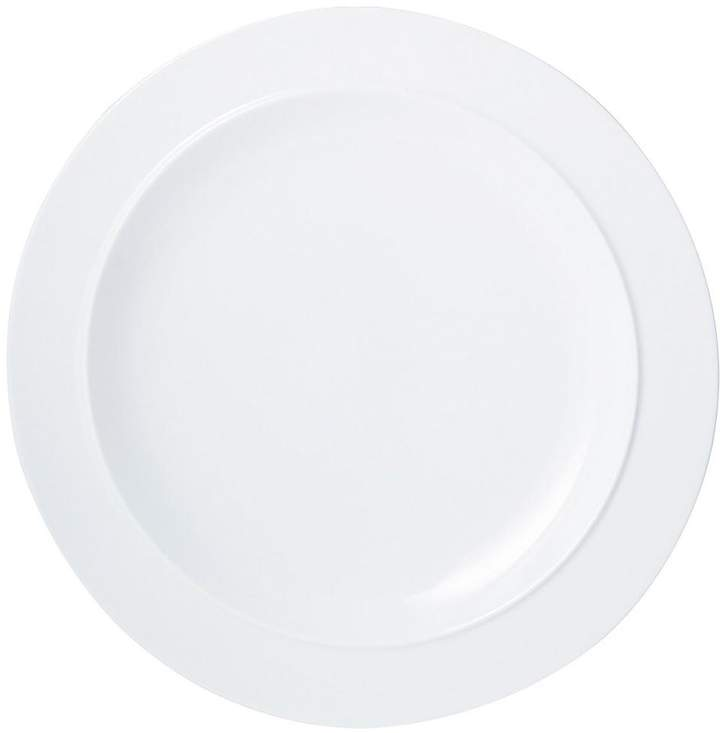 White By Set Of 4 Dinner Plates
