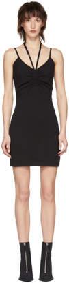 alexanderwang.t Black Compact Ruched Dress