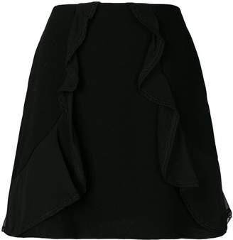 See by Chloe ruffle trim skirt