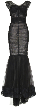 Dolce & Gabbana Sleeveless Mermaid Dress $9,295 thestylecure.com