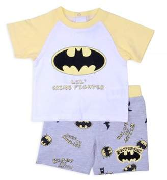 Batman Baby Boy T-shirt & Shorts, 2pc Outfit Set