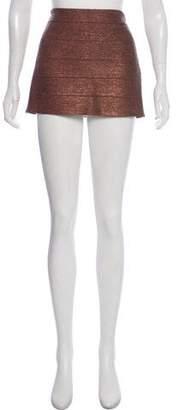 Haute Hippie Metallic Mini Skirts