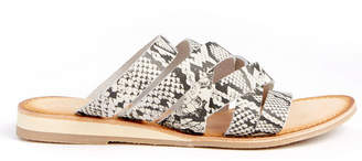 Coconuts by Matisse Ladylike Snakeskin Strappy Sandal