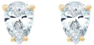 Affinity Diamond Jewelry Pear Diamond Stud Earrings, 14K Yellow, 1/4cttw, by Affinity