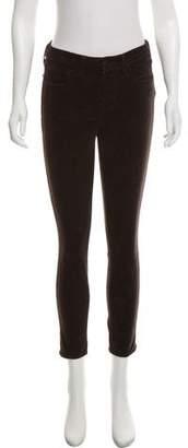 L'Agence Mid-Rise Skinny-Leg Pants