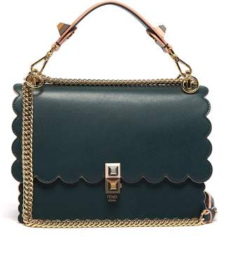Fendi Kan I leather cross-body bag
