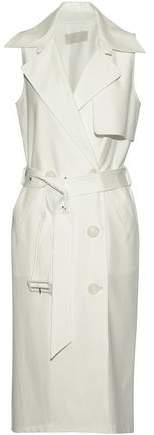 Michelle Mason Belted Woven Dress