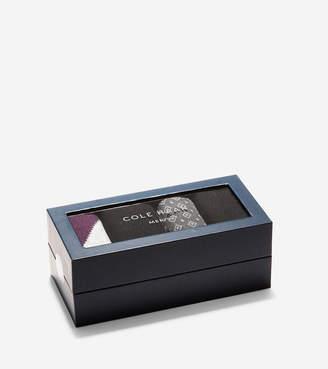 Cole Haan Fashion Crew Socks Gift Box - 4 Pack