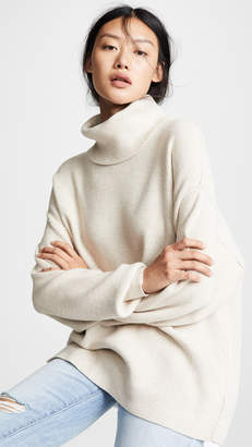 Free People Softly Structured Tunic Sweater