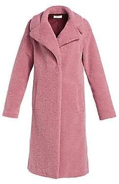 A.L.C. Women's Harlan Faux Fur Fuzzy Coat