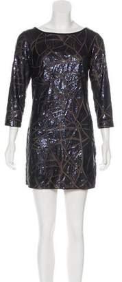 Tadashi Shoji Sequinned Mini Dress