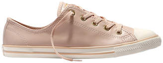 3df515762763 Converse Chuck Taylor All Star Dainty Ox 557995 Dusk Pink Gold Egret Sneaker