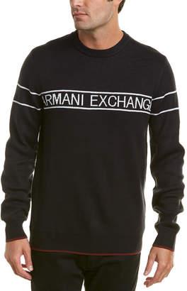 Armani Exchange Classic Logo Crewneck Sweater
