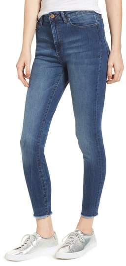 Chrissy Trimtone High Waist Skinny Jeans
