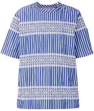 Sacai striped shirt
