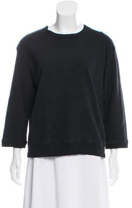 La Garçonne Moderne Long Sleeve Oversize Top