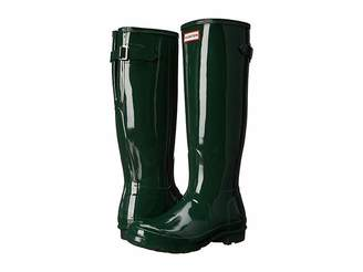 Hunter Back Adjustable Gloss Rain Boots