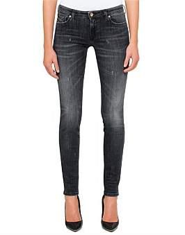 Diesel Gracey Low Rise Super Slim Skinny 5 Pocket Jean