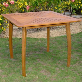 Breakwater Bay Sabbattus Wood Patio Bistro Table