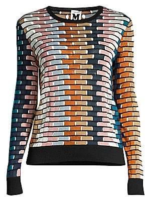 M Missoni Women's Multicolor Knit Pullover