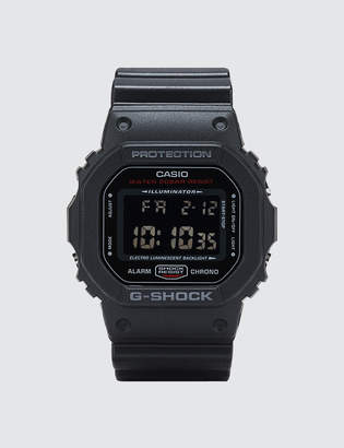 "G-Shock G Shock DW5600HR ""Black & Red Series"""