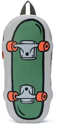 Stella McCartney skateboard print backpack
