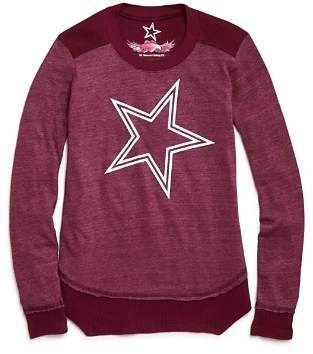 So Nikki... Girls' Contrast Waffle-Knit Star Tee - Big Kid