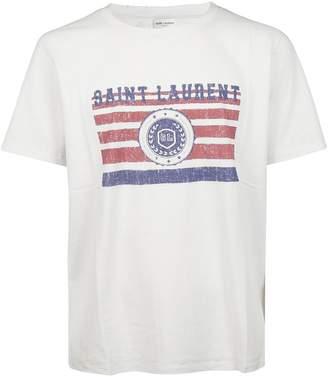 Saint Laurent University Logo T-shirt