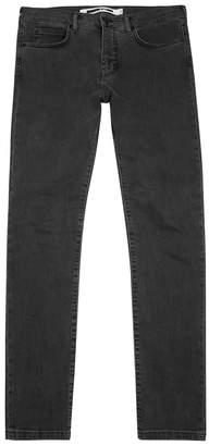 McQ Grey Slim-leg Jeans