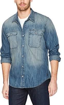 True Religion Men's Denim Workwear Shirt