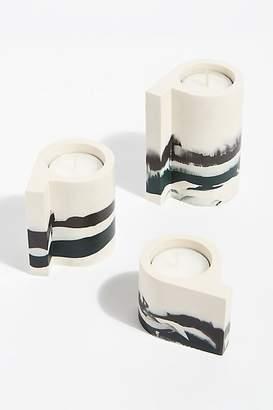 Yenchen Yawen Ceramic Candle Holder Set