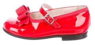 Il Gufo Girls' Patent Leather Flats