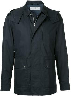 Gieves & Hawkes zipped light-weight jacket