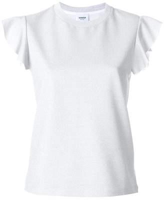 Dondup ruffle sleeve T-shirt