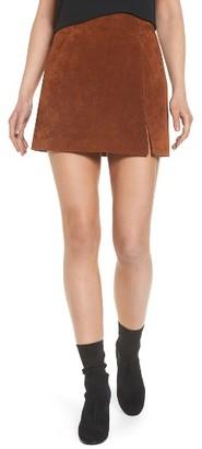 Women's Blanknyc Suede Miniskirt $98 thestylecure.com