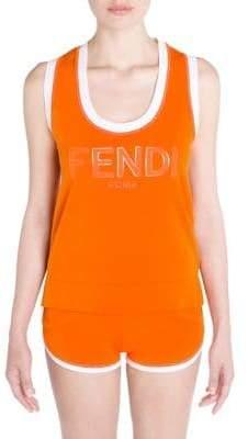 Fendi Logo Tank Top