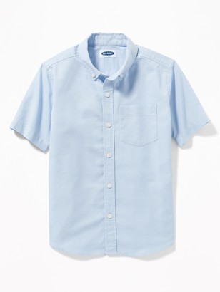 Old Navy Uniform Oxford Stretch Shirt for Boys